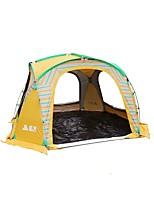 Недорогие -Sheng yuan 5-8 человек Световой тент Один экземляр Палатка Однокомнатная Семейные палатки Складной для Рыбалка Отдых и туризм Пикник