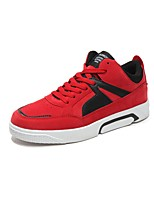 cheap -Men's Shoes Cashmere Spring Fall Light Soles Sneakers For Casual Black/Red Black/White Black/Gold Gray