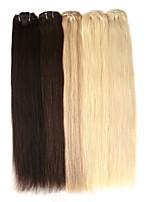 Neitsi 22'' 110g 7Pcs Clip in Remy Human Hair Extensions Double Drawn Straight Full Head 8A Grade Quality