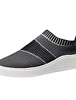 cheap -Men's Shoes Tulle Spring Fall Light Soles Sneakers For Casual Gray Black White