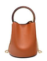 cheap -Women Bags PU Tote Zipper for Casual All Season White Brown