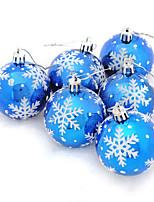 6pcs Natale Ornamenti di NataleForDecorazioni di festa 18*6*12
