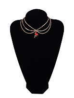 Women's Choker Necklaces Bird Copper Simple Fashion Jewelry For Gift Daily