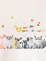 Animals Cartoon Wall Stickers 3D Wall Stickers Decorative Wall Stickers,Vinyl Home Decoration Wall Decal For Wall