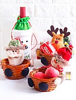 Storage Bag Santa Leisure Holiday Other Kitchen Counter Table/Desk ChristmasForHoliday Decorations