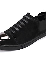 economico -Da uomo Scarpe PU (Poliuretano) Primavera Autunno Comoda Sneakers per Nero Grigio Cachi
