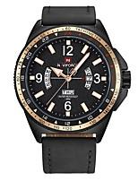 cheap -Men's Casual Watch Fashion Watch Dress Watch Wrist watch Japanese Quartz Calendar / date / day Chronograph Water Resistant / Water Proof