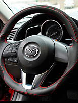 Automotive Steering Wheel Covers(Leather)For Mazda Mazda3 Axela CX5 CX7 CX4 CX9