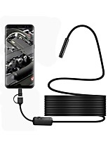 cheap -8mm 3.5M Cable 3 in 1 USB Endoscope Mini Camera with 6 LED Waterproof IP67 Borescope Inspection Camera for Android Windows