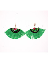 Women's Drop Earrings Hoop Earrings Bohemian Basic Cotton Alloy Jewelry For Party Daily
