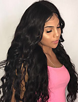 cheap -®Guanyuwigs 360 Lace Frontal Wig Brazilian Remy Hair Loose Wave 150% Density