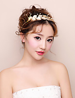 Women's Imitation Pearl Floral Alloy Hair Jewelry For Wedding Party Wedding Gifts