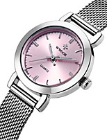 Women's Casual Watch Fashion Watch Dress Watch Wrist watch Quartz Stainless Steel Band Casual Elegant