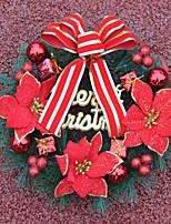 1pc enfeites de natal guirlanda para decorações de férias 30 * 30
