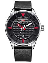 Муж. Повседневные часы Модные часы Нарядные часы Наручные часы Кварцевый Натуральная кожа Группа На каждый день Elegant