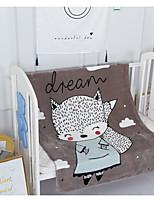 Недорогие -Супер мягкий Животные Чистый хлопок одеяла