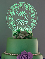 Cake Topper Wedding Euramerican Plastic Wedding  1 Gift Box