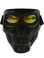 пластик Хэллоуин защитный череп скелет маска открытый полный лицо