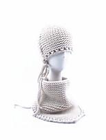Kid Scarf, Hat & Glove Sets,Fall Winter Acrylic Roman Knit