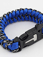 Survival Bracelet Camping / Hiking / Caving Camping & Hiking Traveling Emergency Nylon 1 pcs
