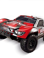 RC Car HUANQI 727 2.4G Truck Off Road Car High Speed 4WD Drift Car Buggy SUV Brush Electric * KM/H Remote Control Rechargeable Electric