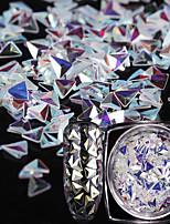 economico -nail glitter art deco / gioielli unghie retrò 0.001 kg / scatola