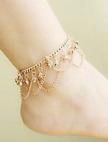 Women's Anklet/Bracelet Alloy Simple Elegant Line Jewelry For Casual