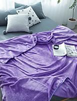 Недорогие -Супер мягкий,Крашенный в пряже Один цвет Полиэфир одеяла