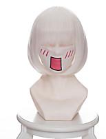 Parrucche Cosplay Hoozuki no Reitetsu Zashiki-warashi 2 Anime Parrucche Cosplay 35 CM Tessuno resistente a calore Donna