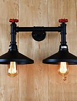 applique da parete luce ambientale applique 220v e27 rustico / lodge di alta qualità