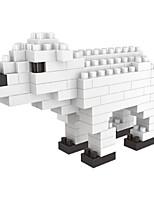 economico -Costruzioni Giocattoli Animali Orso Cartone animato Con animale Animali Animali Fai da te 105 Pezzi