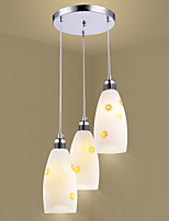 Tiffany Rústico/Campestre Retro/Vintage Moderno/Contemporáneo Tradicional/Clásico Campestre Farol Lámparas Colgantes Para Comedor