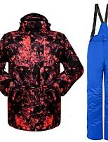 economico -Per uomo Giacca e pantaloni da sci Caldo Ventilazione Antivento Indossabile resistente all'acqua Escursionismo Sport vari Sport invernali