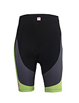 Cycling Padded Shorts Men's Bike Padded Shorts/Chamois Bottoms Bike Wear Quick Dry Wearable Breathability Solid Letter & Number Mountain