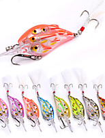 8 pcs Fishing Lures Fishing Tools Hard Bait Minnow g/Ounce,80mm mm/3-1/4