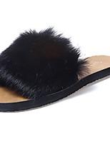 Women's Shoes Rubber Winter Comfort Slippers & Flip-Flops For Outdoor Coffee Gray Beige Black