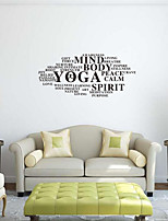 Words & Quotes Wall Stickers Plane Wall Stickers Decorative Wall Stickers,Vinyl Home Decoration Wall Decal Wall Window