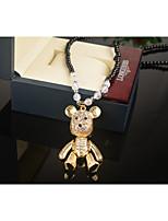 Жен. Ожерелья с подвесками Стразы Сплав Животные европейский Милый Мода Бижутерия Назначение Повседневные