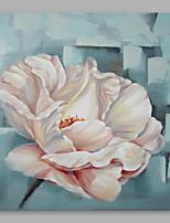 Ручная роспись Цветочные мотивы/ботанический Modern 1 панель Холст Hang-роспись маслом For Украшение дома