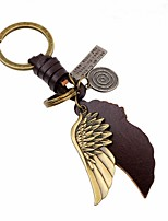 cheap -Keychains Jewelry Leather Alloy Wings / Feather Vintage Fashion Daily Going out