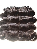 cheap -Remy Brazilian Natural Color Hair Weaves Hair Extensions 40PCS Black