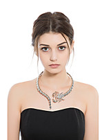 Women's Choker Necklaces Animal Shape Alloy Elegant Jewelry For Party