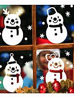 Navidad Día Festivo Formas Pegatinas de pared Calcomanías 3D para Pared Calcomanías Decorativas de Pared,Papel Material Decoración