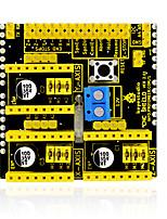 economico -keyestudio cnc shield v2 macchina per incisione / stampante 3d / scheda di espansione driver a4988 per arduino