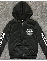 Men's Daily Going out Hoodie Letter Others