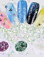 cheap -Nail Glitter Shiny Christmas 3D Flake 0.001kg/box