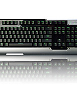 Ajazz-ak47 cherry Green Axle Backlight Wired Game Mechanical Keyboard  104 Key