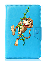 cheap -Universal Cartoon Monkey PU Leather Stand Cover Case For 7 Inch 8 Inch 9 Inch 10 Inch Tablet PC