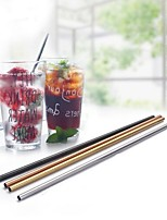 cheap -30OZ Metal Straw Colorful Aluminum Drinking Straws Food Grade Juicy Reusable Straws