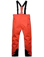 Недорогие -Муж. Лыжные брюки Теплый Водонепроницаемость С защитой от ветра Пригодно для носки Воздухопроницаемость Лыжи Катание на лыжах Отдых и